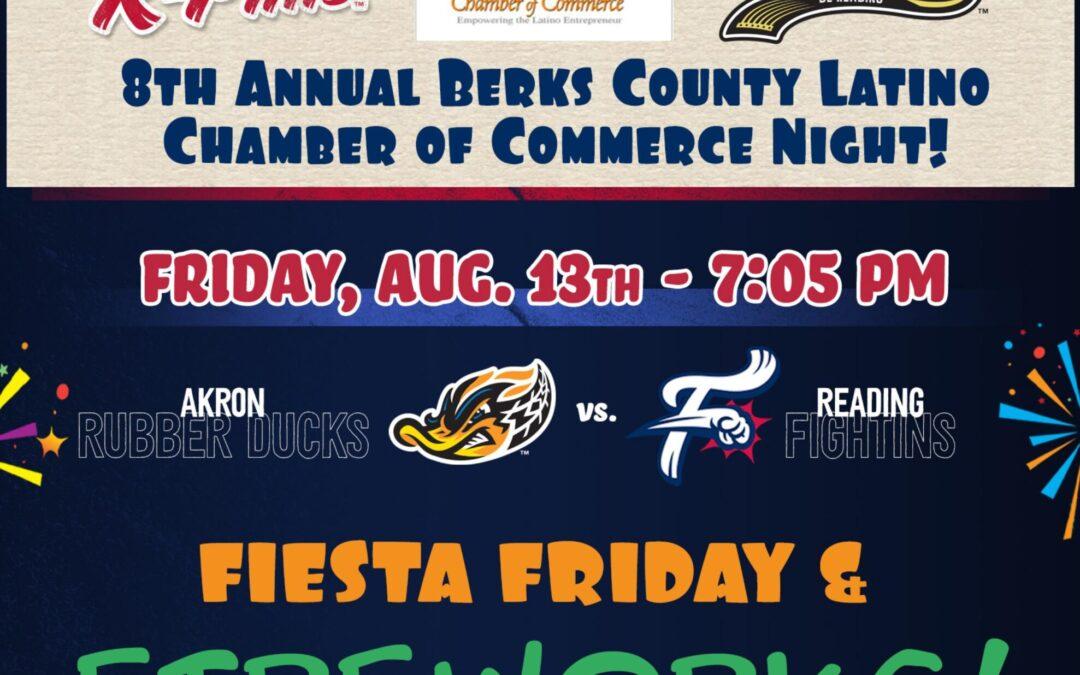 8th Annual Berks County Latino Chamber of Commerce Night